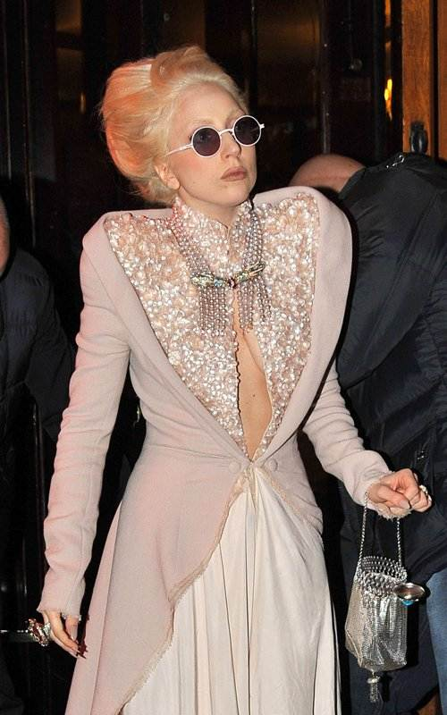 Lady GaGa stunning in Jan Taminiau Gown at Paris
