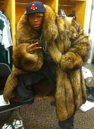 PETA asks Nate Robinson to donate his fur coat