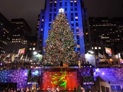Performers rock Rockefeller Christmas Lightning