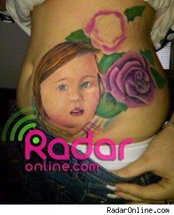Teen Mom star already regretting baby tattoo