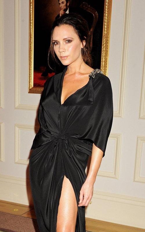 Victoria Beckhams look at the British Fashion Awards