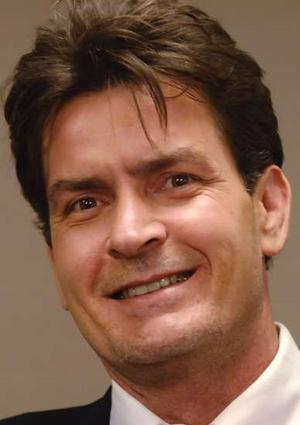 Abdominal pains send Charlie Sheen to hospital