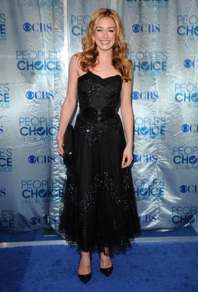 Cat Deeley black dress 2011 Peoples Choice Awards