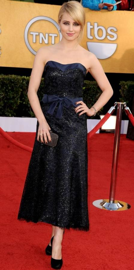 Dianna Agron in Chanel at 2011 SAG Awards