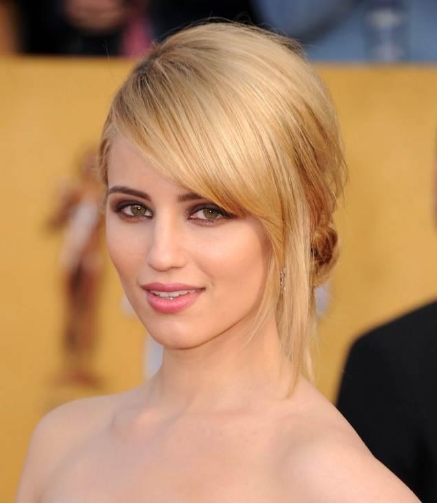 Dianna Agronhairtyle makeup  2011 SAG Awards