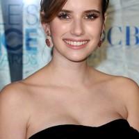 Emma Roberts hairstyle makeup 2011 Peoples Choice Awards