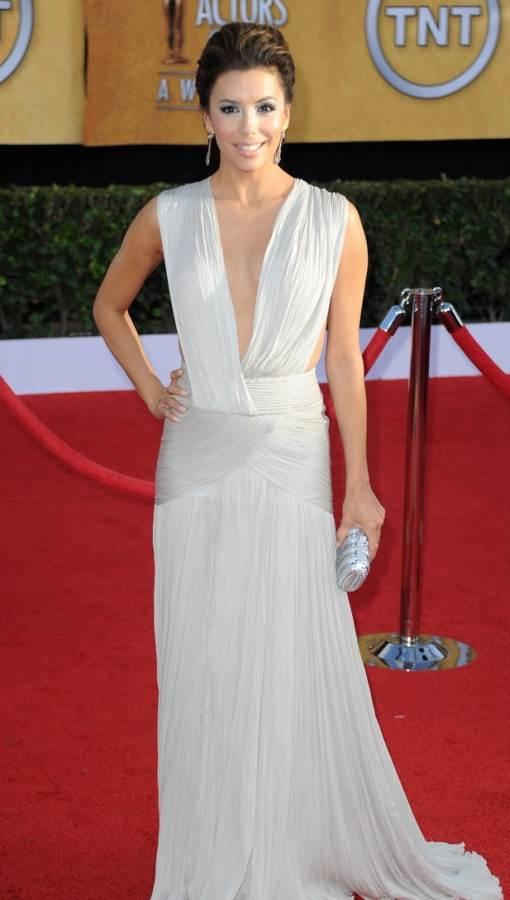 Eva Longoria on the red carpet of 2011 SAG Awards