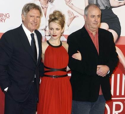 Harrison Ford Rachel McAdams premier Morning Glory