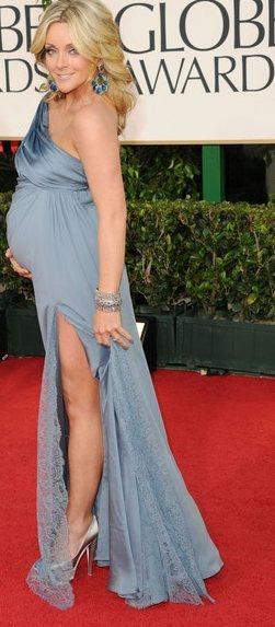 Jane Krakowski gown  2011 Golden Globe Awards