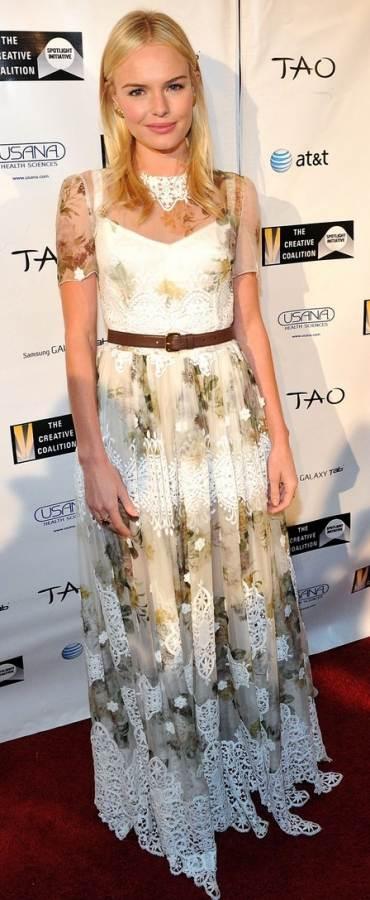 Kate Bosworth DG dress Creative Coalition Awards