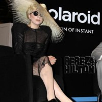Lady Gaga launches Polaroid Grey Label