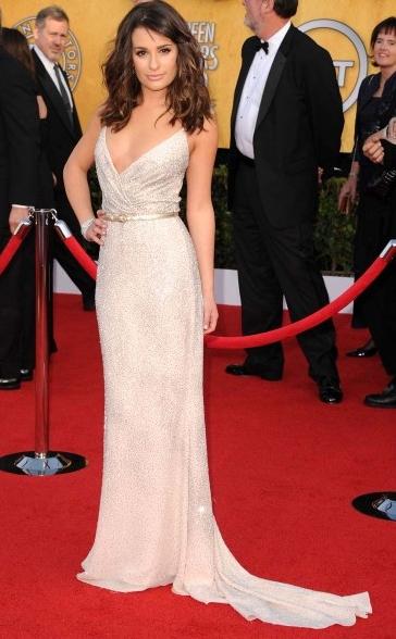 Lea Michele at 2011 SAG Awards