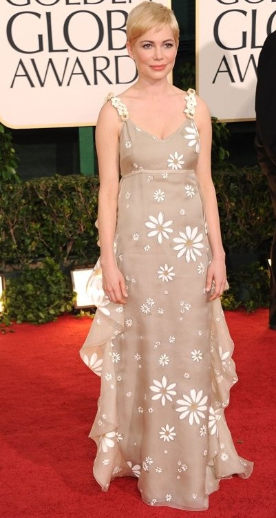 Michelle Williams dress 2011 Golden Globe Awards