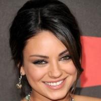 Mila Kunis hairstyle makeup 2011 Critics Choice Awards