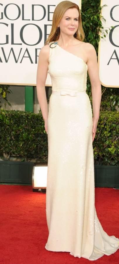 Nicole Kidman in Prada for Golden Globes 2011