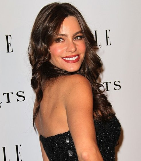 Sofia Vergara hairstyle Elles Women in Television event