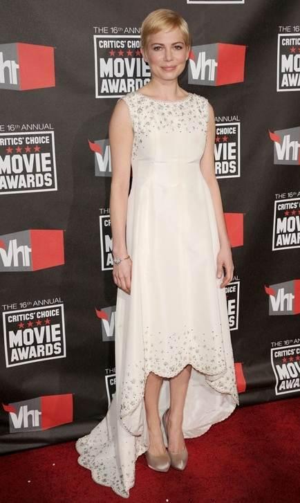 michelle williams 2011 Critics Choice Awards