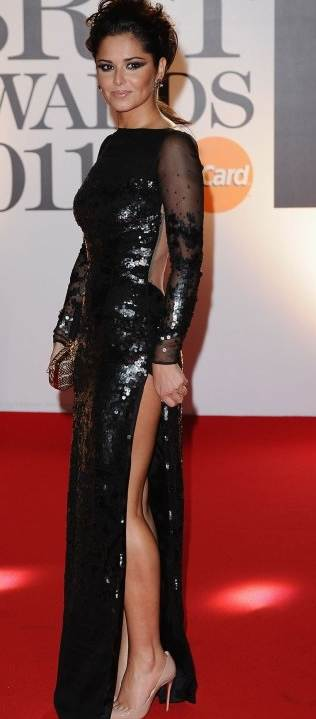 Cheryl Cole 2011 BRIT Awards