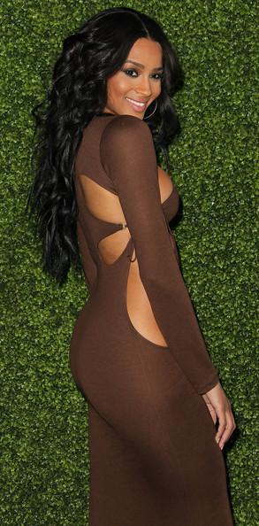 Ciara bold look at Peapod Benefit Concert