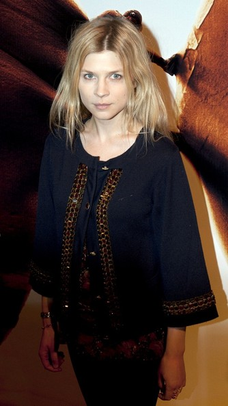 Clemence Poesy at 127 hours premiere in Paris