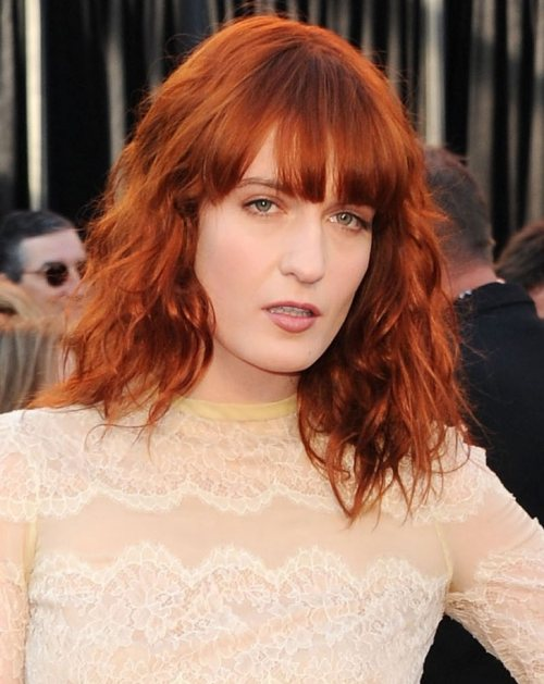 Florence Welch at the 2011 Oscars