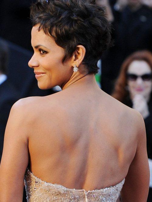 Halle Berry Marchesa gown 2011 Oscars