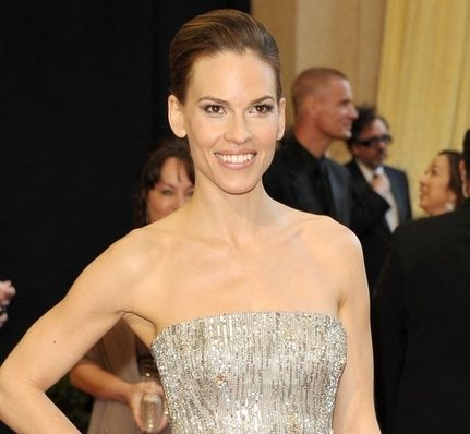 Hilary Swank in Gucci at 2011 Oscars