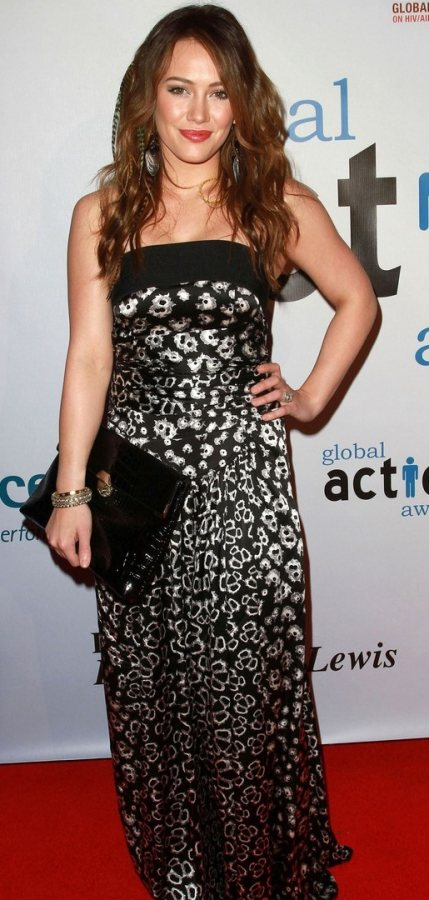 Hillary Duff Global Action Awards