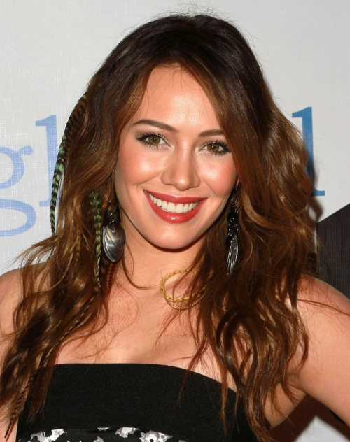Hillary Duff hairstyle Global Action Awards