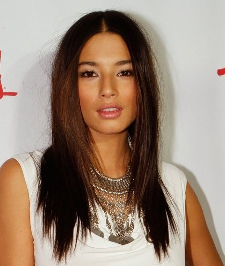 Jessica Gomes hairstyle Sports Illustrated Swimwear party