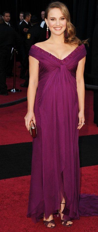 Natalie Portman gorgeous Rodarte gown  2011 Oscars