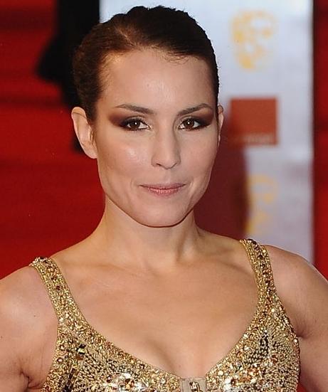 Noomi Rapace hairstyle makeup BAFTA Awards night