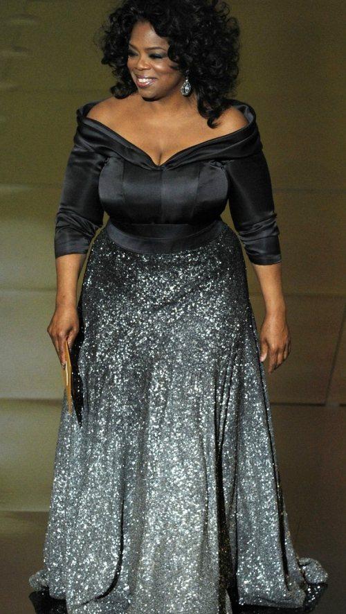 Oprah Winfrey at the 2011 Oscars
