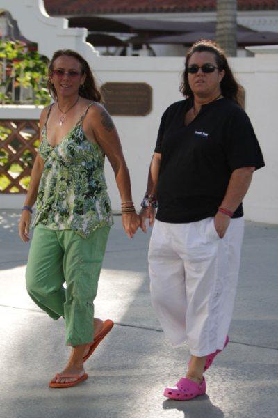 Rosie ODonnell splits girlfriend Tracy Kachtick-Anders