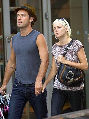 sienna miller. Sienna Miller and Jude Law