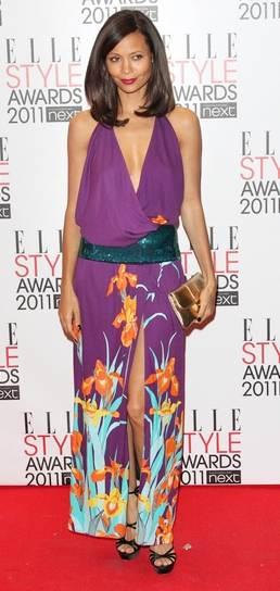 Thandie Newton Louis Vuitton at 2011 Elle Style Awards