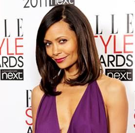 Thandie Newton hairstyle makeup 2011 Elle Style Awards