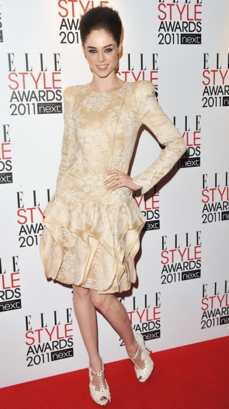 cocorocha hairstyle makeup 2011 elle style awards