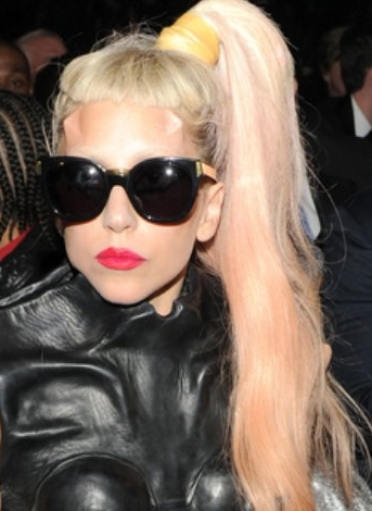 lady gaga 2011 hair. lady gaga hairstyle