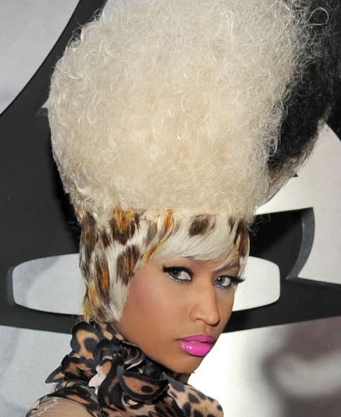 nicki-minaj-hairstyle 2011Grammy-Awards