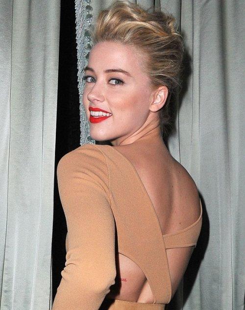Amber Heard  Michael Kors Dinner