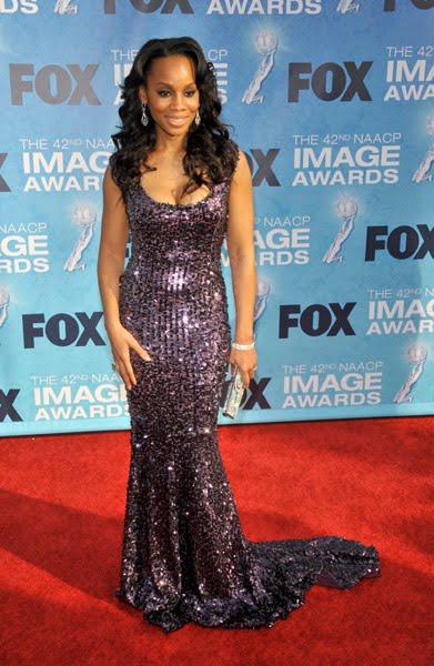 Anika Noni Rose at the 2011 NAACP Image Awards