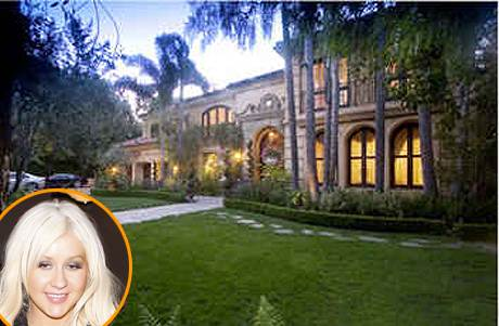 Christina Aguilera selling her Beverly Hills mansion