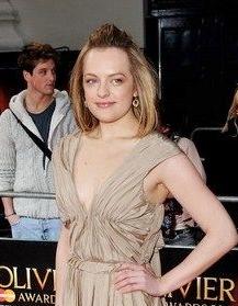 Elisabeth Moss attends 2011 Oliver Awards