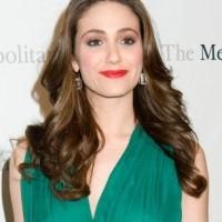 Emmy Rossum YSL look at Metropolitan Opera Premiere