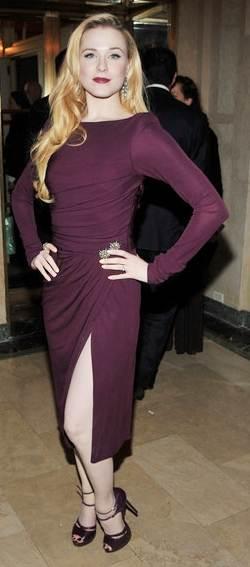 Evan Rachel Wood Mildred Pierce Premier in New York
