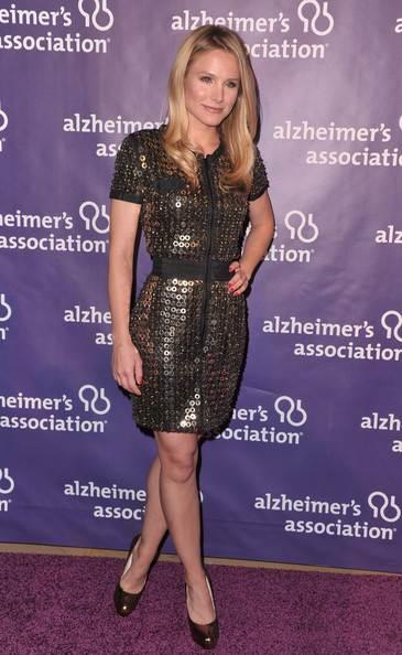 Kristen Bell black dress A Night at Sardis Fundraiser Awards Dinner
