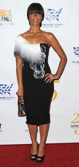 Leona Lewis at the 25th Anniversary Genesis Awards