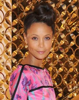 Thandie Newton sporting Louis Vuitton at Louis Vuitton Party