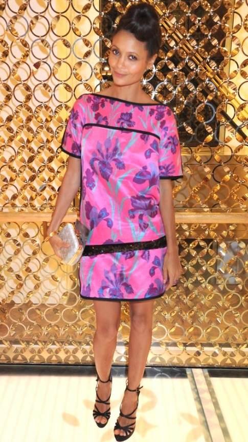 Thandie Newton sporting Louis Vuitton